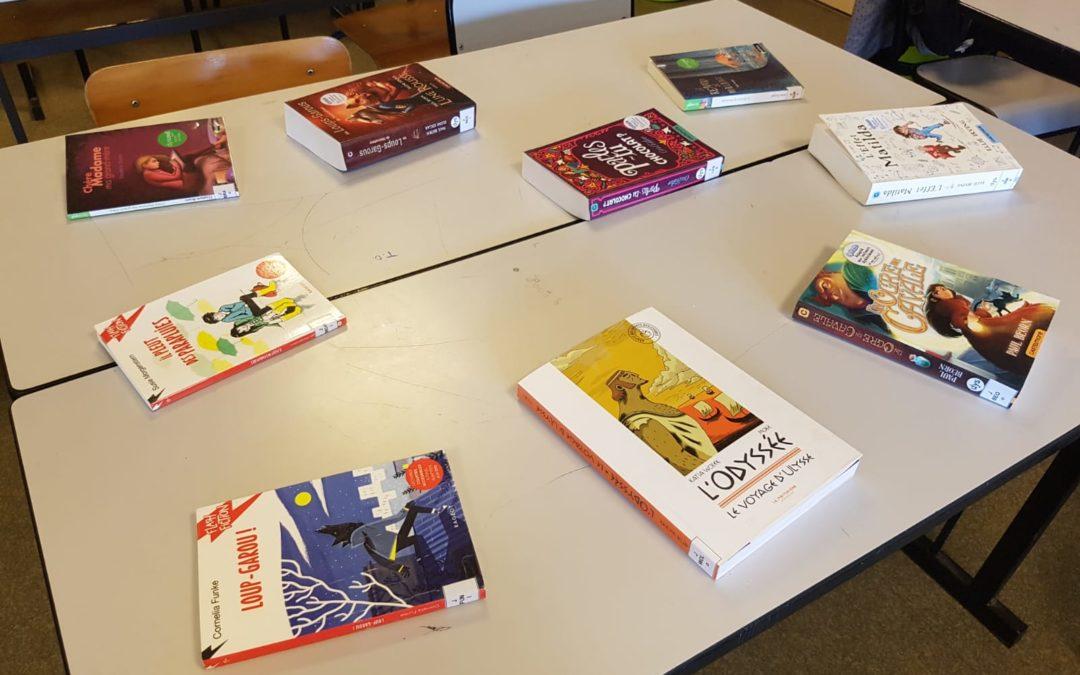 Première ronde de livres adaptés